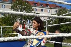 Miss polski 2014 na targach Chorten