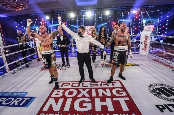2020.12.05Polsat Boxing Nightfot. Bartłomiej Zborowski